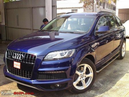 cars of sachin tendulkar Audi Q7 sachin