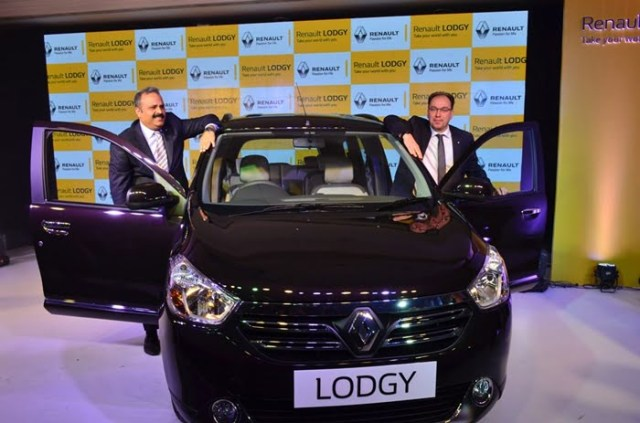 Renault Lodgy price in India - Renault-Lodgy-Stepway-Pics