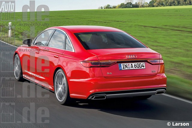 2017-Audi-A6-redesign-pics-rear