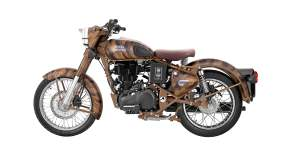 Royal Enfield Classic 500 desert storm side 2