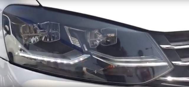 2016 volkswagen vento led headlamps