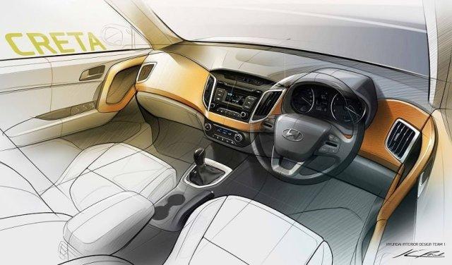 Hyundai Creta- Interiors