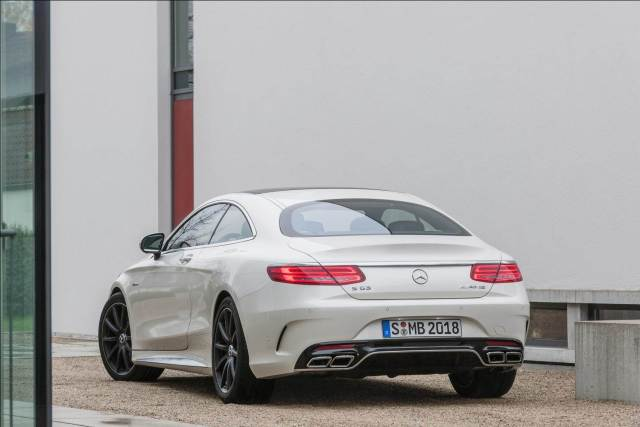 Mercedes S 63 AMG Coupe India