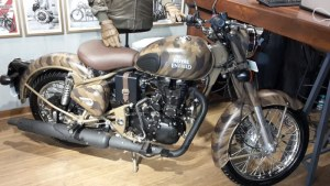 Royal Enfield despatch limited desert storm