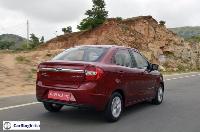 ford cars in india - ford aspire images
