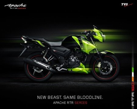 best bike in india 2016 - tvs apache rtr160