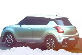 New-model-Maruti-Swift-2017-rear-three-quarter-leaks