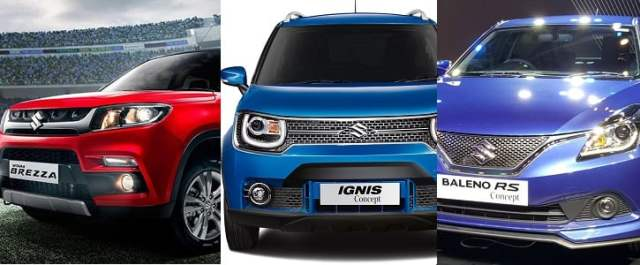 Upcoming New Maruti cars in India in 2016 - Maruti Ignis, Wagon R MPV, Alto Diesel Launch Date, Prices, Specifications, Mileage