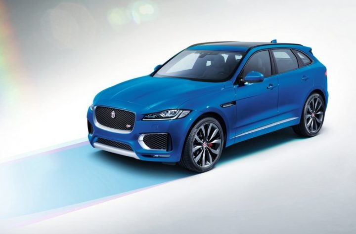 upcoming new car launches india 2016 2017-jaguar-f-pace-blue