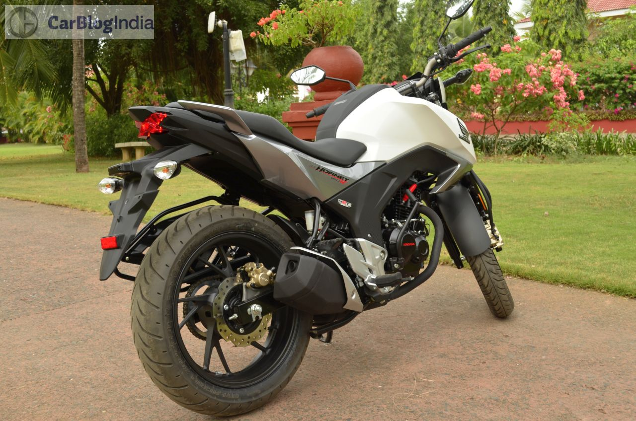 honda cb hornet 160r price launch mileage review. Black Bedroom Furniture Sets. Home Design Ideas