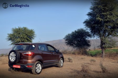 2016 ford ecosport review photos rear angle