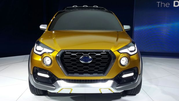 upcoming new car launches india 2016 datsun go cross concept front