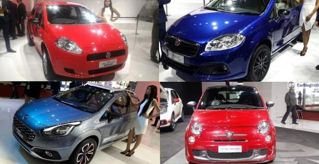 fiat cars at auto expo 2016
