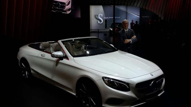 mercedes cars at auto expo 2016 - S-Cabriolet