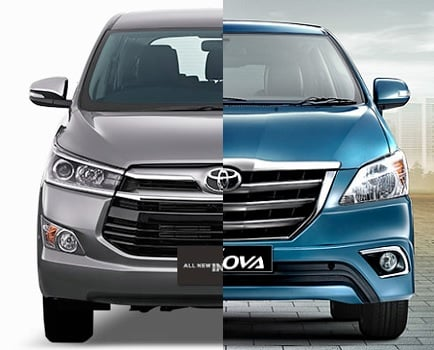 toyota innova old vs new comparison images