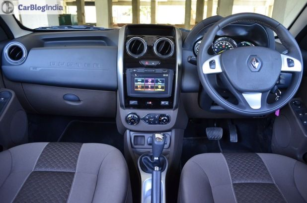 new 2016 Renault Duster Automatic Test Drive Review images interiors