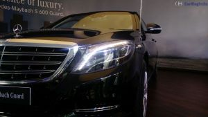 mercedes maybach s600 guard india launch 2