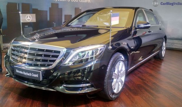 mercedes-maybach s 600 guard india launch 5