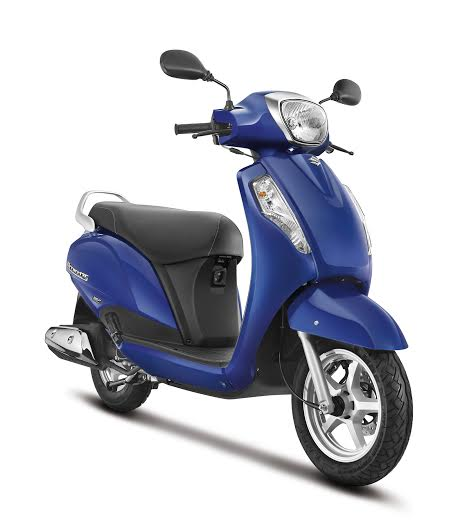 new 2016 suzuki access launch official image front angle