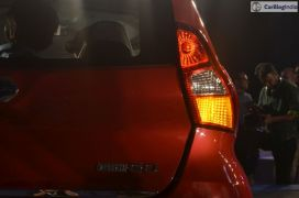 2016 datsun redi go official launch red tail lamp