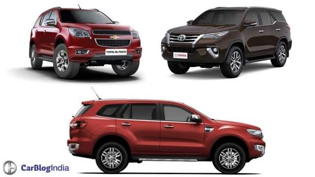 new-toyota-fortuner-vs-ford-endeavour-chevrolet-trailblazer