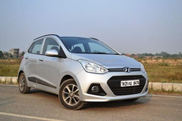 Automatic hatchback cars in India below 7 lakhs with Price, Specs, Mileage hyundai-grand-i10-test-drive-review