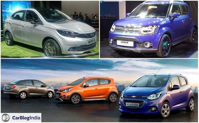 Upcoming Small Cars in India Under 6 lakhs Price, Launch 2016 - 2017