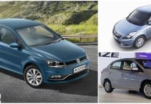 volkswagen ameo vs maruti swift dzire vs honda amaze