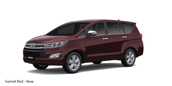 2016 Toyota Innova Crysta Launch Price Specifications