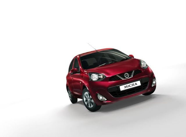 Nissan Micra CVT Price, specifications, mileage nissan-micra-cvt-official-images-red-front-angle-2