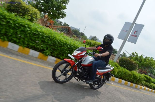 hero splendor ismart 110 test drive review
