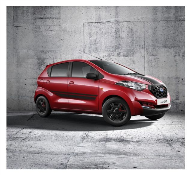 Limited Edition Datsun Redi Go Sport Price- 3.49 Lakh, Mileage, Images datsun-redi-go-sport-official-images-front-side