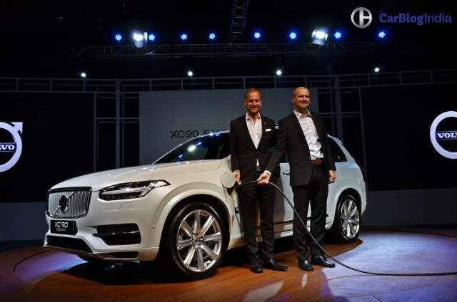 Volvo XC90 T8 Excellence India Price Rs. 1.25 crore, XC90 Hybrid SUV volvo-xc90-t8-india-launch-images