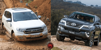 new toyota fortuner vs new ford endeavour
