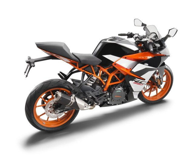2017 KTM RC 390 India Launch, Price, Images, Specification 2017-ktm-rc-390-official-image-side-rear-angle