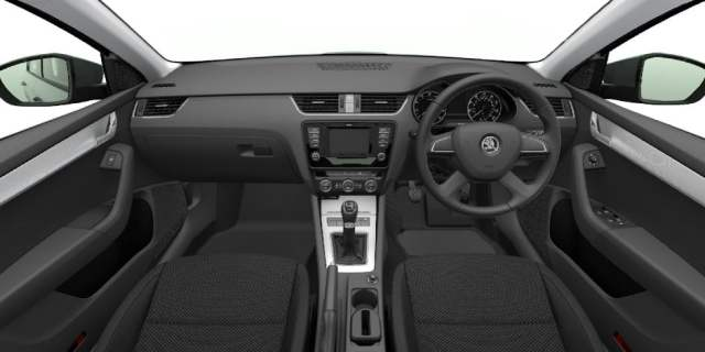 skoda octavia black edition interior images 2