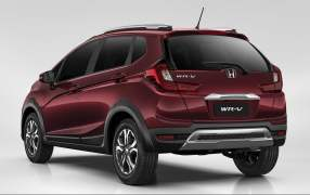 honda wrv india images rear angle