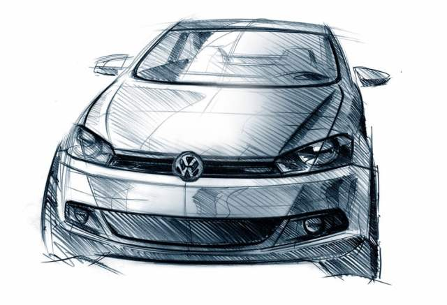 new 2018 volkswagen polo india images - sketch