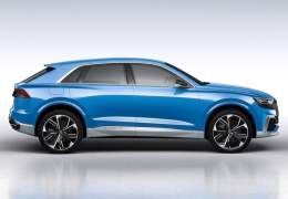 2017 audi q8 concept official image side