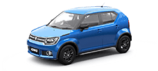 maruti ignis official colour options tinsel blue
