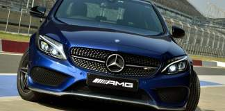 mercedes amg c43 india review track drive