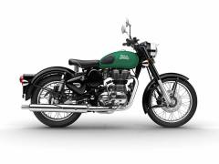 royal enfield classic 350 redditch series green colour images
