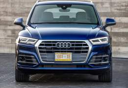 2017 audi q5 india official images front
