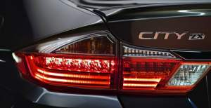 2017 honda city official image led tail lamps