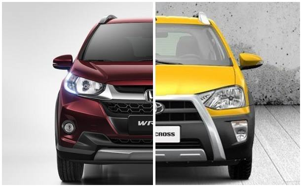 honda wrv vs toyota etios cross comparison