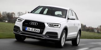 2017 Audi Q3 India Front angle