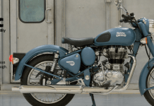Royal Enfield Classic 500 Images side view