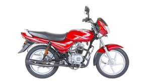 2017 bajaj ct 100 flame red colour