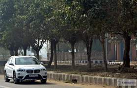 bmw x1 review images action shot