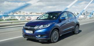 honda hrv india official image front angle